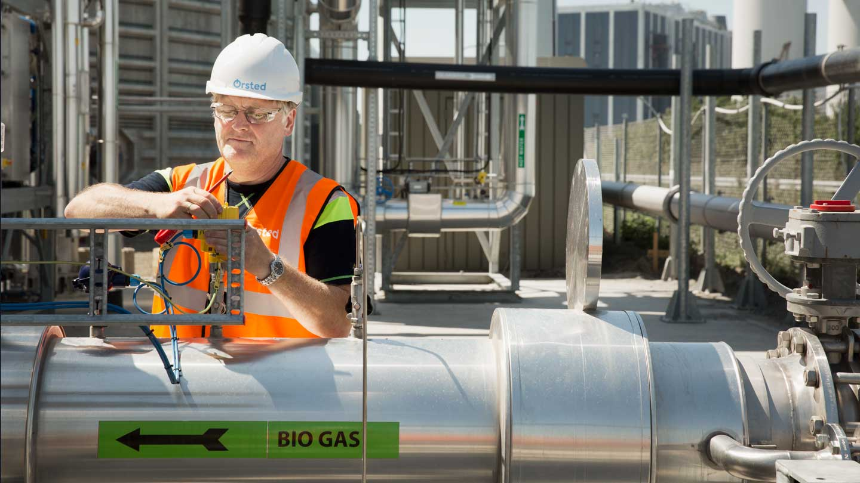 Kalundborg biogas plant