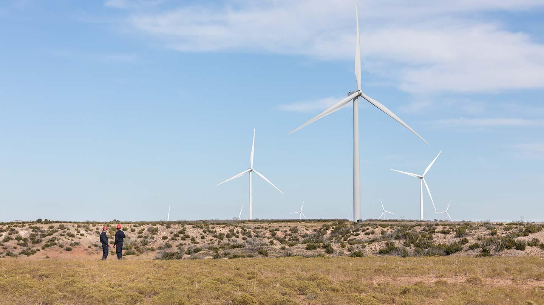 Onshore wind_Amazon_texas_wind mills