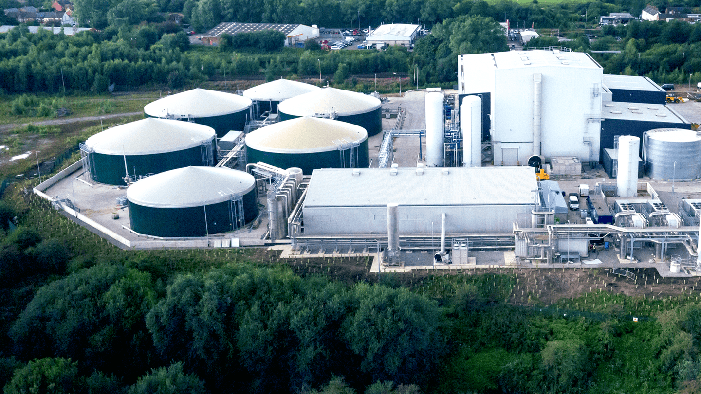 Air shot of Renescience plant