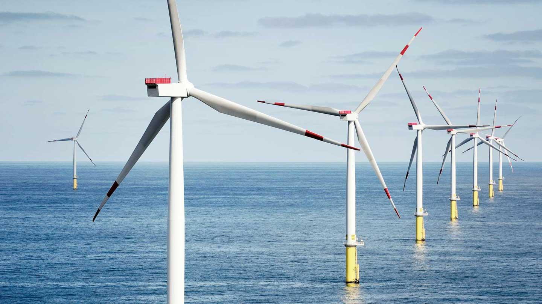 Wind farm park