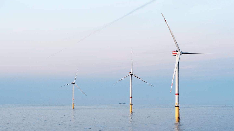 Tre vindmøller