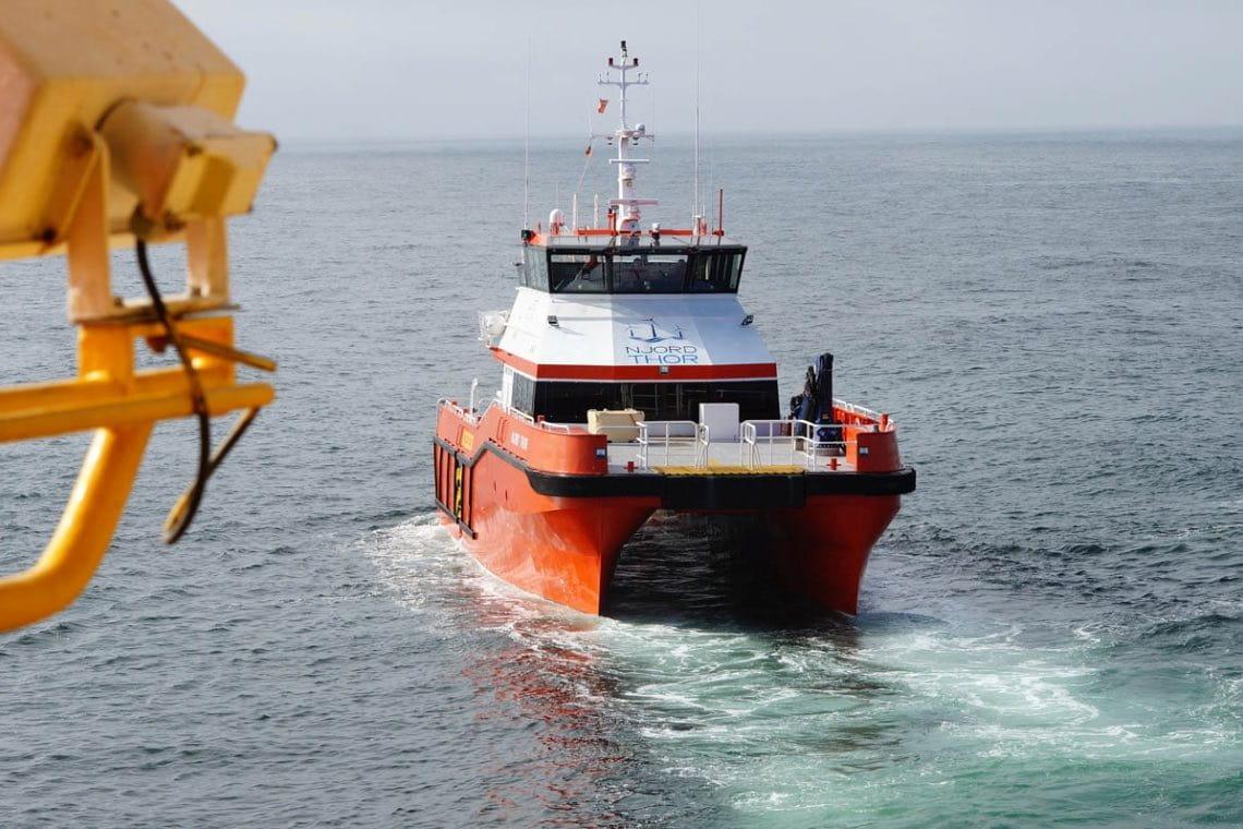 "Crew Transfer Vessel ""Edda Fjord"""