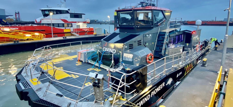 Batteriebetriebene Wartungsschiffe
