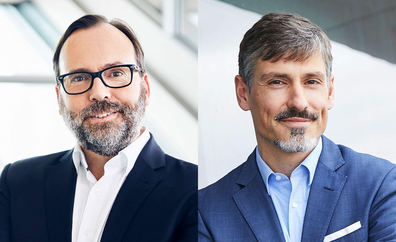 Jörg Kubitza und Malte Hippe