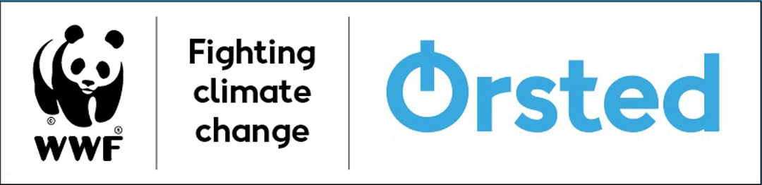 WWF and Ørsted logoer