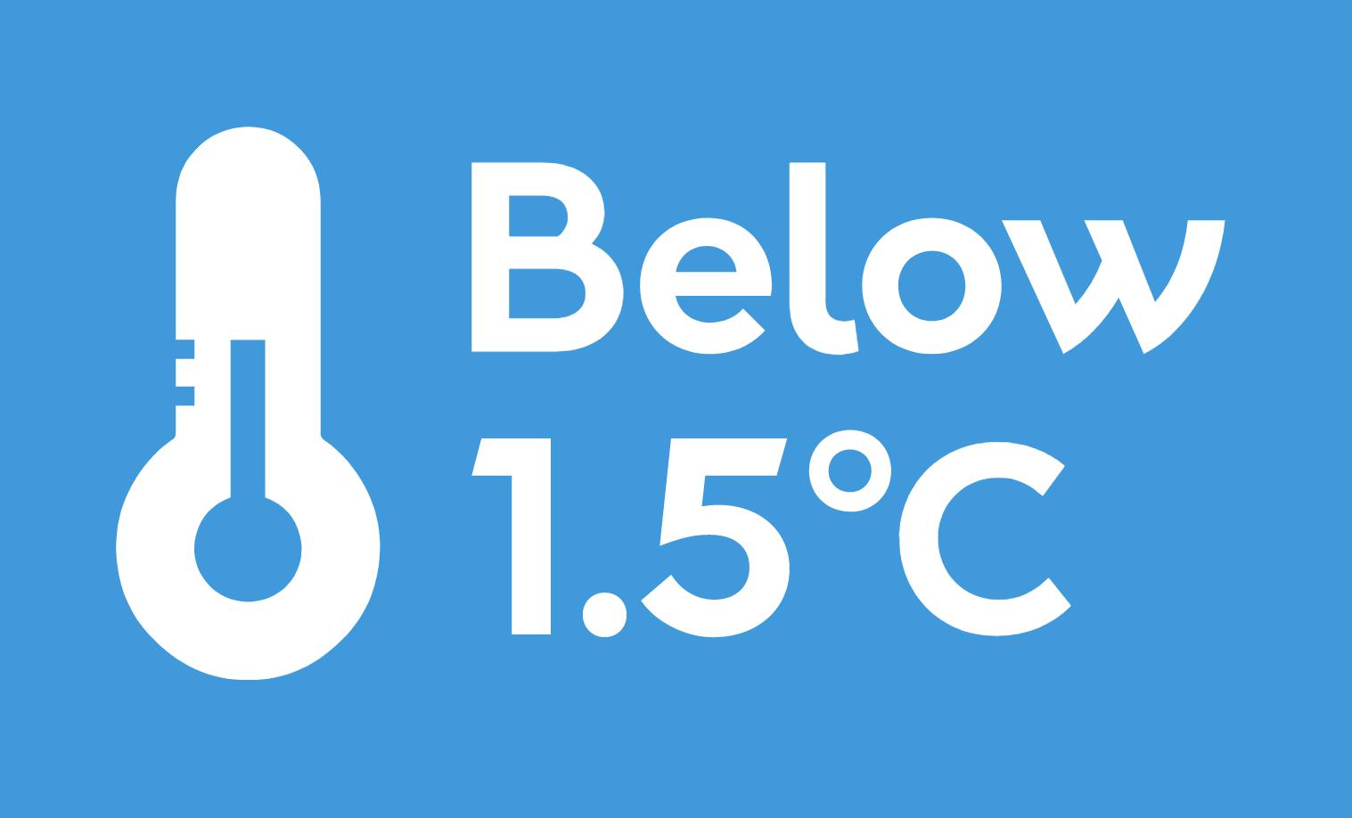 Below 2 degrees