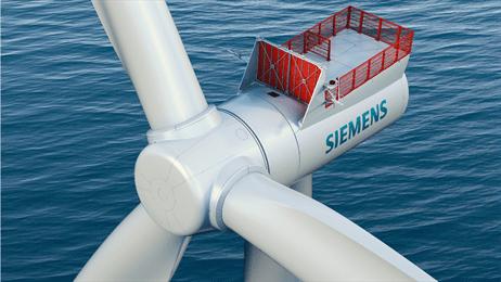 Siemens 7.0 MW turbine