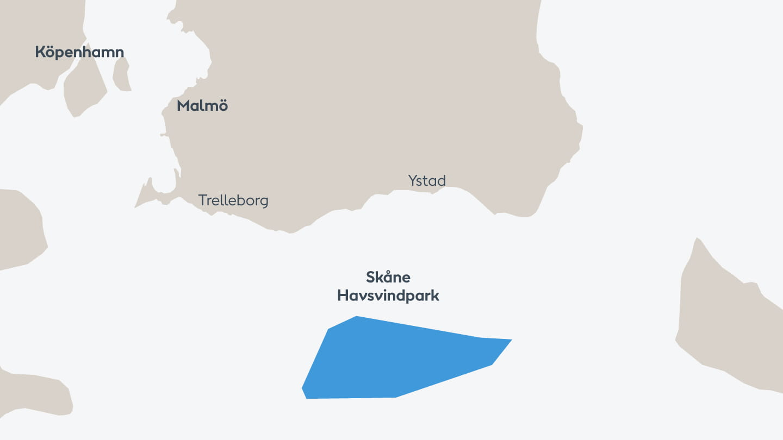 Skåne site map