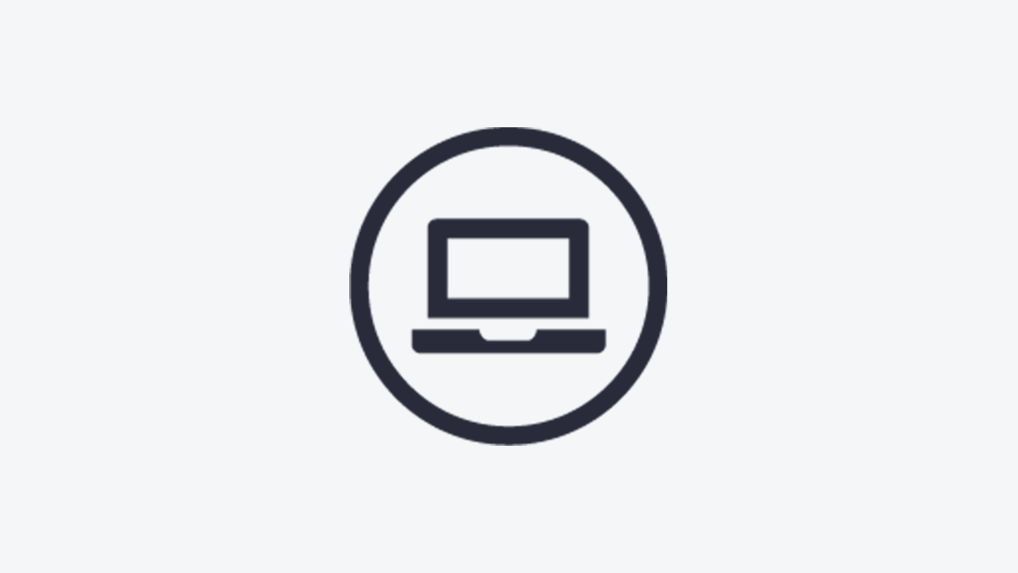Online purchasing icon