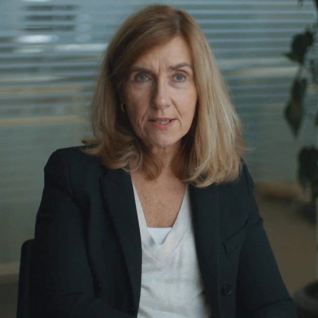 Unsere grüne Transformation | Marianne Wiinholt | Chief Financial Officer | Es war eine schwierige Transformation. Aber wenn man den richtigen Antrieb hat, kann man viel mehr erreichen, als man sich je hätte vorstellen können.