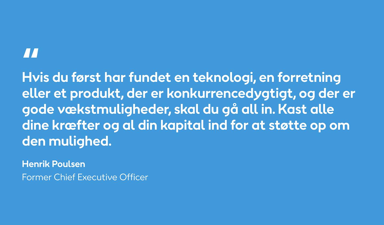 Quote by Henrik Poulsen