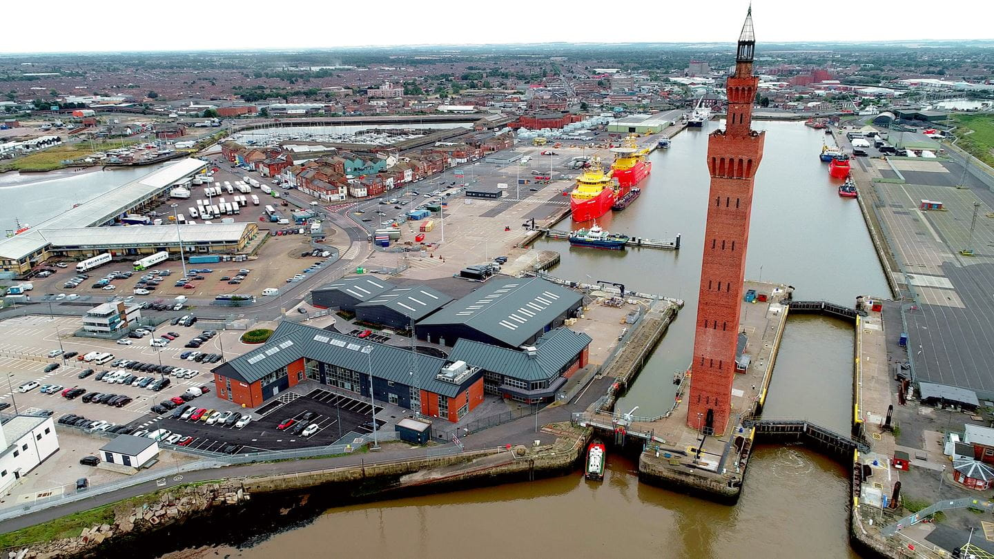 Transforming Coastal Communities - Orsted's East Coast Hub Grimsby