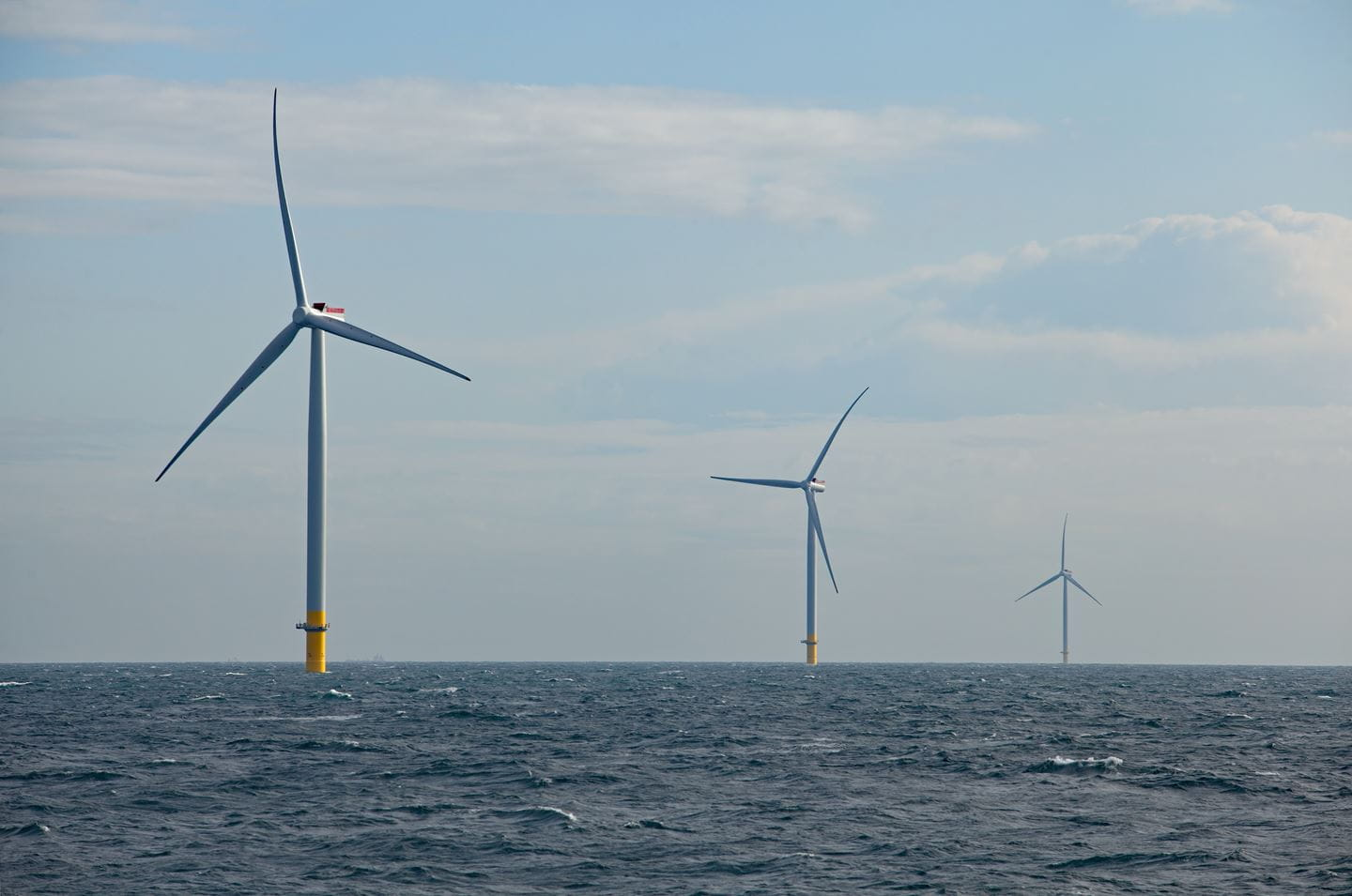 Hornsea One 174 wind turbines