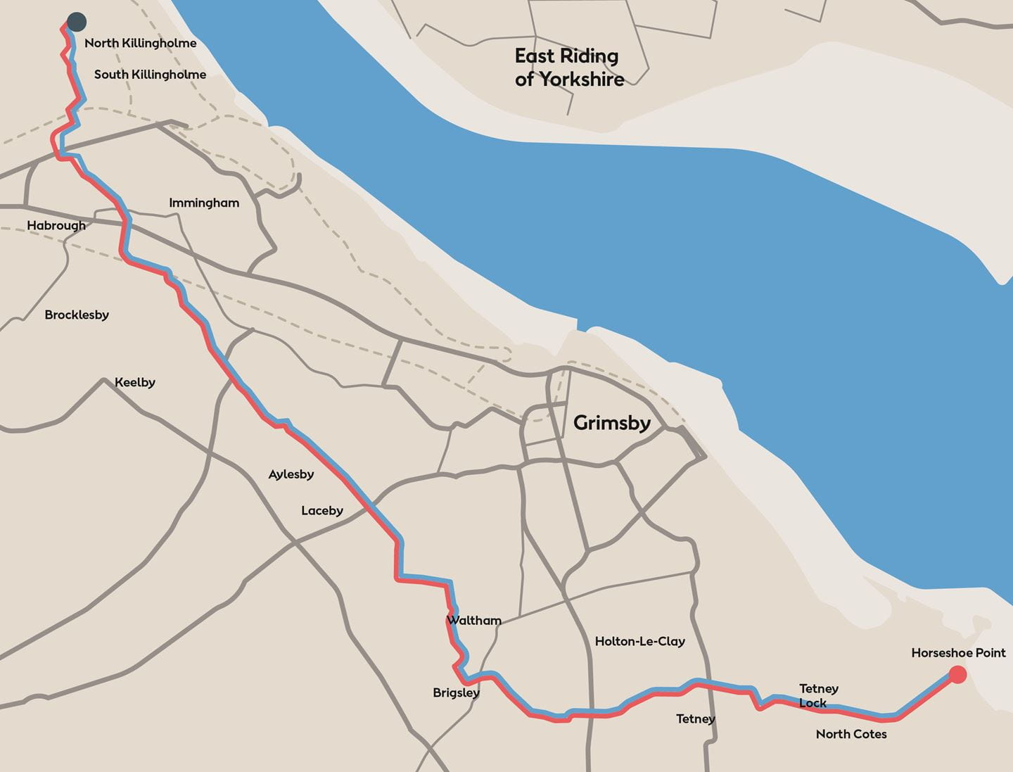 Hornsea Project Two onshore cable route