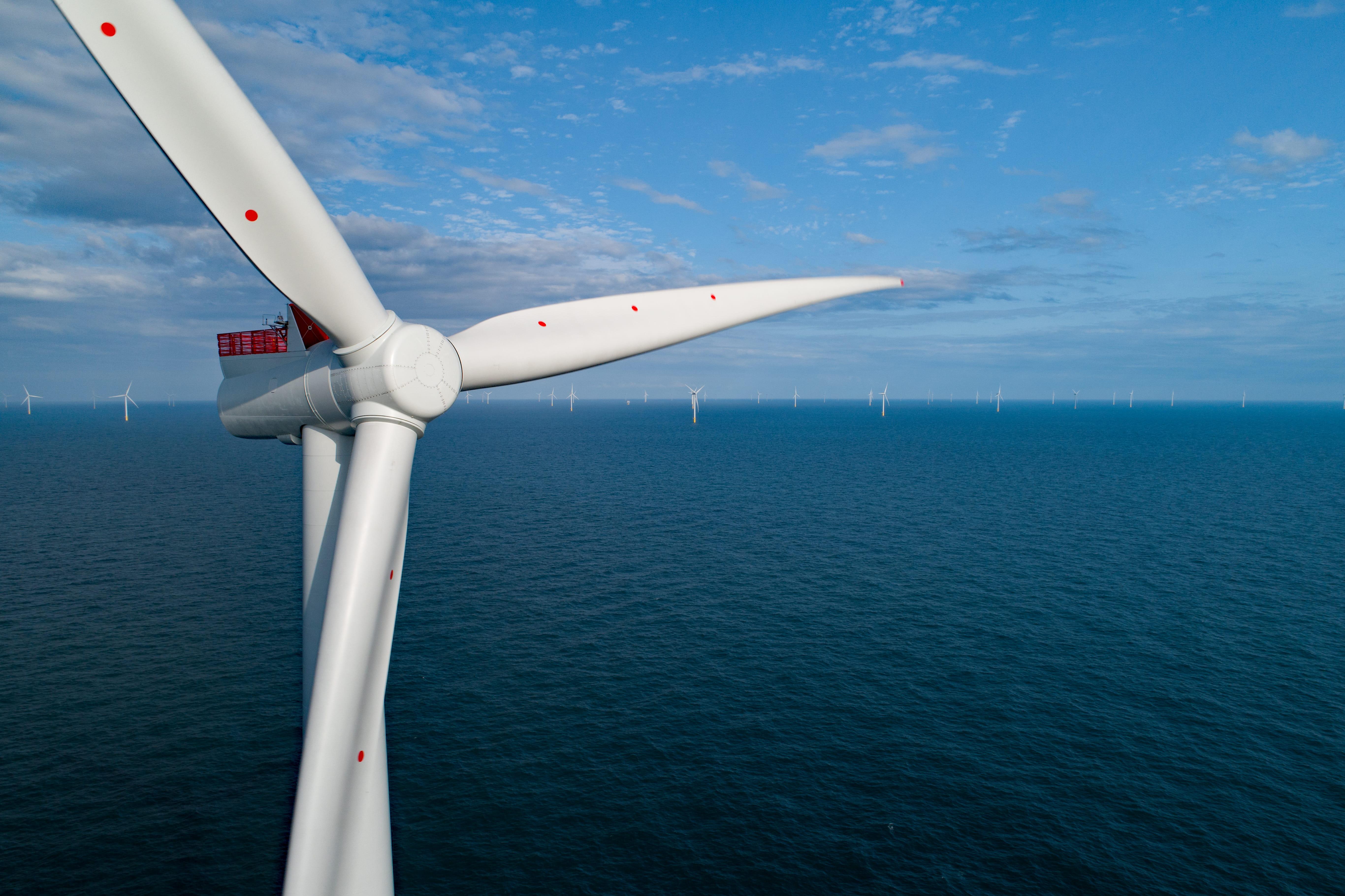 Hornsea One Offshore Wind Farm turbine