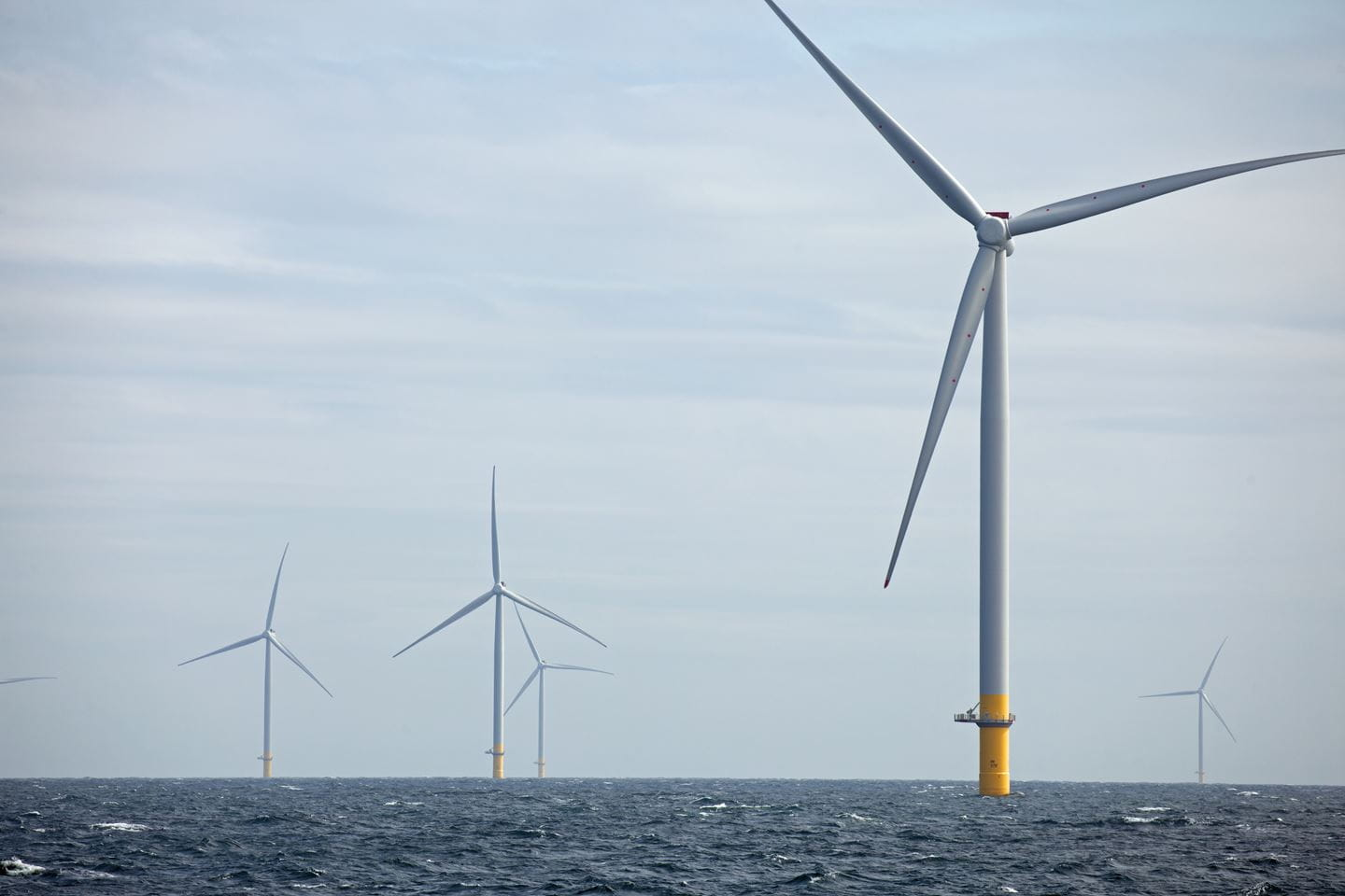 Hornsea One Offshore Wind Farm in operation