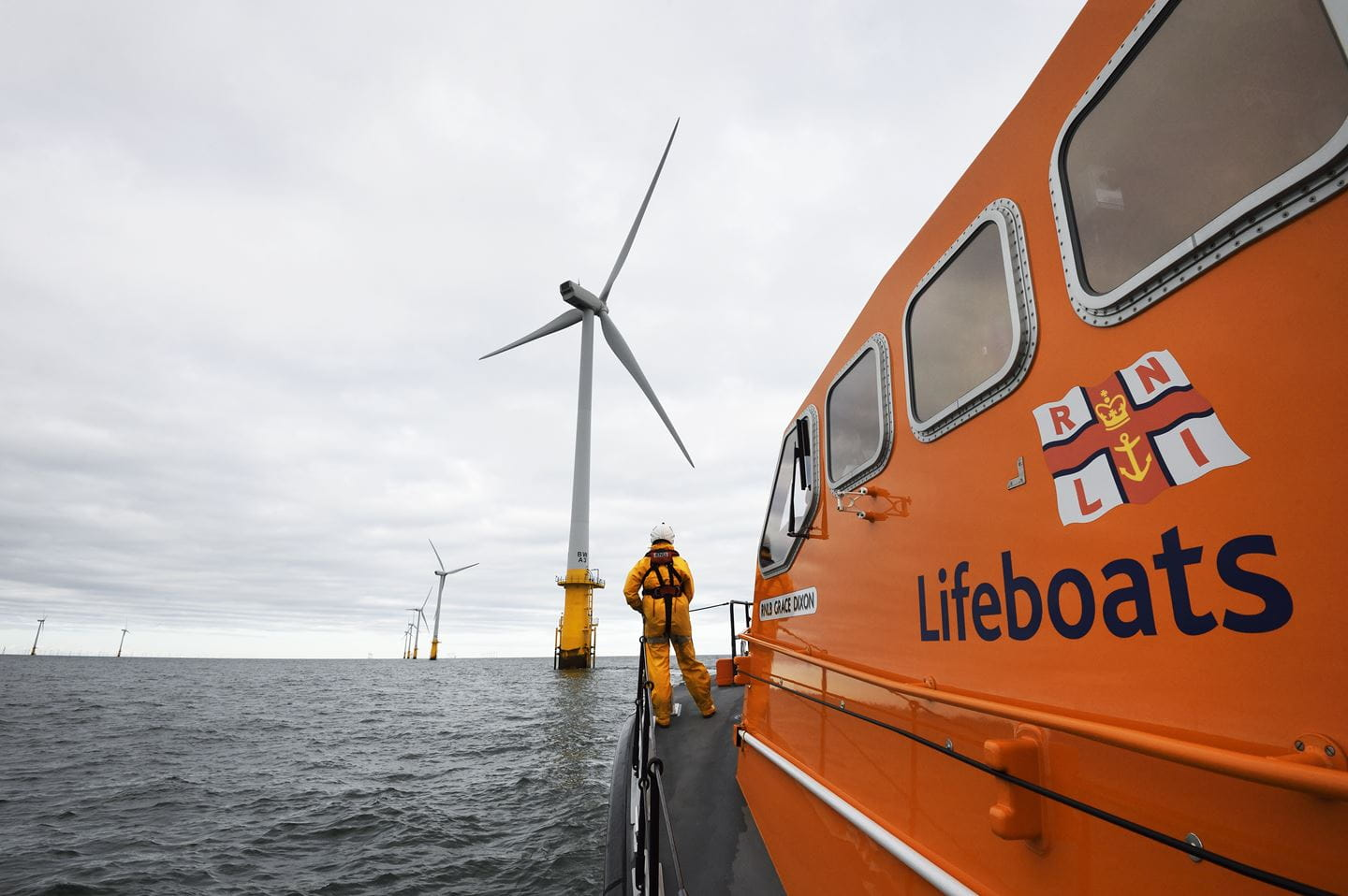 Offshore wind having a positive impact on coastal communities - RNLI funding
