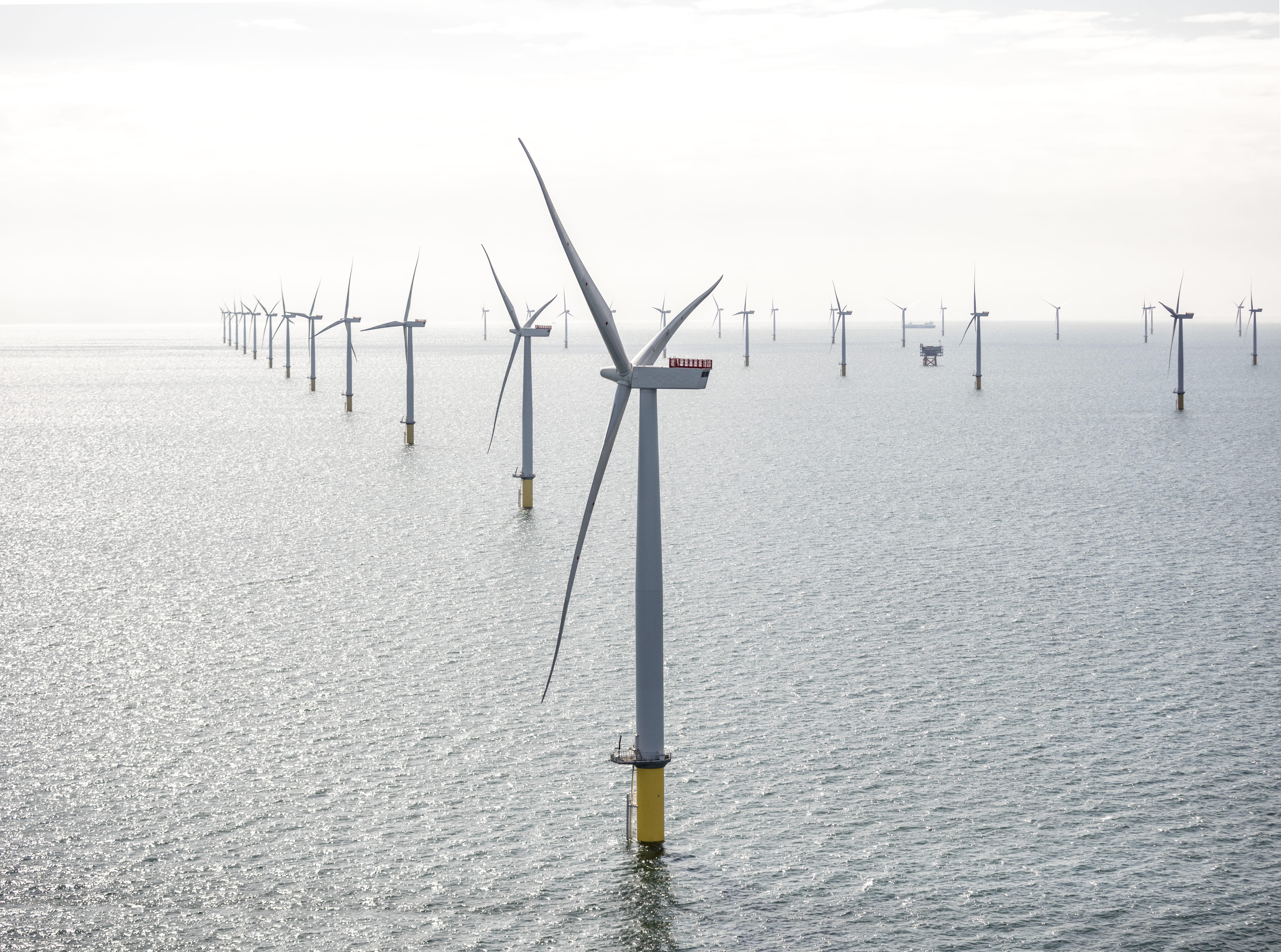 West of Dunddon Sands offshore wind farm
