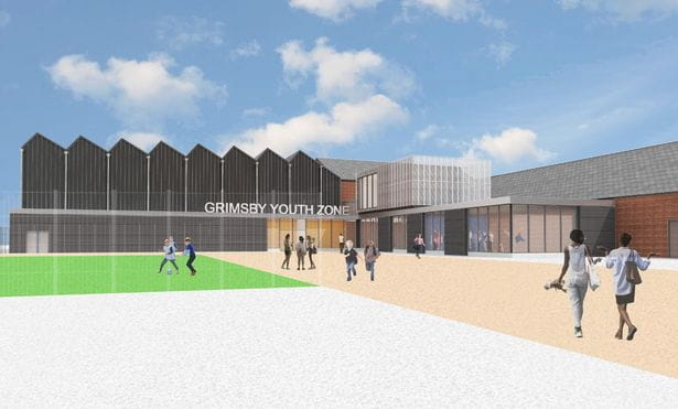 Artists impression of Grimsby Youth Zone