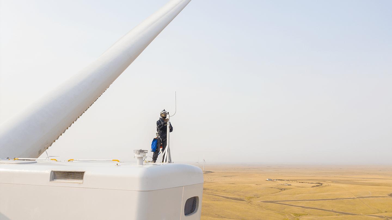 Onshore wind technician