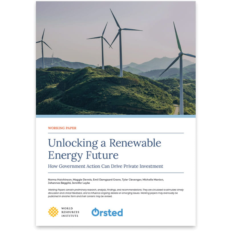 Unlocking a Renewable Energy Future