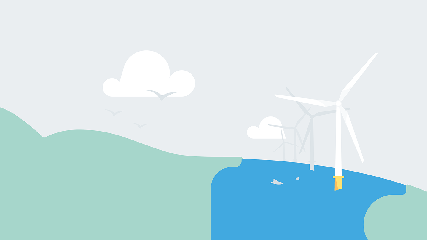 graphic with turbines